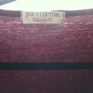 PRICE DROP!! New Purple Juicy Couture Sweater